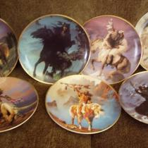 FRANKLIN MINT SPIRIT OF THE WEST INDIAN PLATES Photo