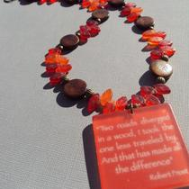Free Earrings With Purchase - the Road Less Traveled Necklace Photo