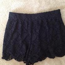 Free People Lace Scalloped Shorts Photo