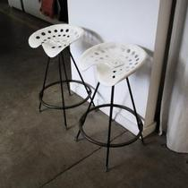 french tractor seat stools Photo