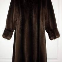 Fur Coat-Sheared Beaver Full Length  Photo