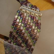 Gaia Goddess Beadwoven Bracelet Photo