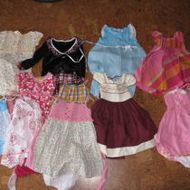 Girls Dresses Photo