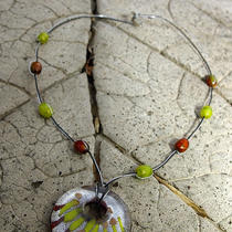 Glass Beaded Necklace Photo