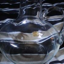 Glass Pitcher MADE IN ITALY FOR JOSEPH MAGNIN Photo