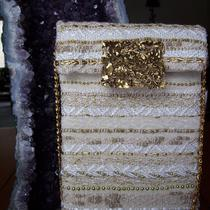 Gold Evening Purse With Vintage Style Closure Photo