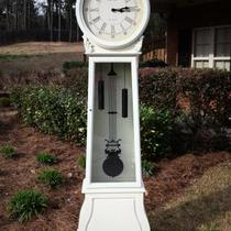 Gorgeous Rebuilt Classy Cottage Style Grandfather Clock Photo