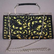 Green Brocade Purse Photo