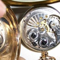 Hamiltion 17 Jewels 910 Pocket Watch Photo