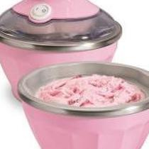 Hamilton Beach Half Pint Soft-Serve Ice Cream Maker, Pink Photo