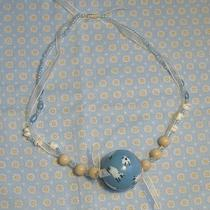 Hand Painted Counting Sheep Necklace Photo