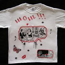 Hand Painted Tshirt With Applique Free Usa Shipping Photo
