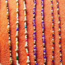 Handmade beaded necklaces Photo