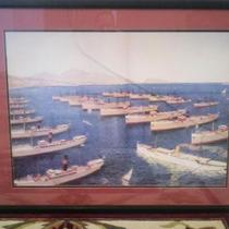 Harbor wall hanging. Photo
