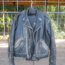 Harley Davidson Leather Jacket Photo