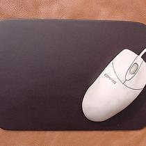 Heavy Duty Dark Brown Leather Mouse Pad Mousepad Photo