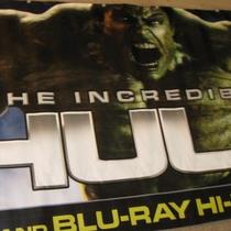HUGE Incredible Hulk vinyl banner  Photo