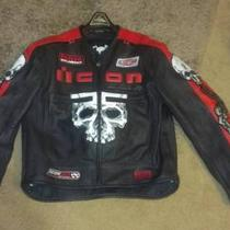 Icon Leather Jacket 2x Photo
