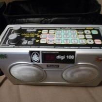 Indian electronic table drum machine, portable Photo