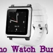 IPOD NANO 6G WRISTWATCH (Silver &White) Photo