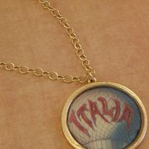 Italia Medallion - Artisan Necklace Photo
