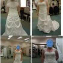 Ivory Wedding Gown Photo