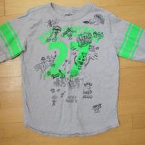 J Crew Crewcuts Boys Graphic long sleeve tee shirt, size 8 Photo