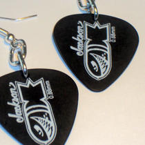 Jackson Guitar Pick Earrings Photo