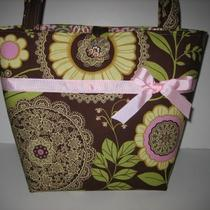 Jeanniebags Amy Butler Lotus Lacework Fabric Tote or Diaper Bag Photo