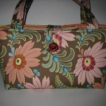 Jeanniebags Barbie Bag Amy Butler Curry Sun Dahlia Fabric Ginger Bliss Photo