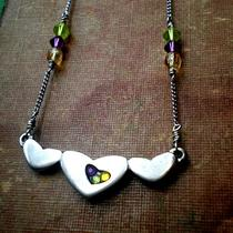 Jeweled Heart Necklace Photo