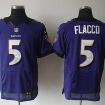Joe Flacco Nike Home/road Baltimore Ravens Nfl Jersey Photo