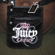 Juicy Couture Black Velour Swingpack Photo