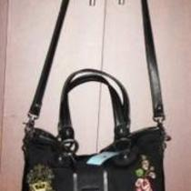 Kathy Van Zeeland Black Tote/handbag/pursenew With Tags Photo