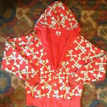 Kidrobot Bones Limited Edition Red Hoodie Photo