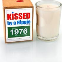 Kissed by a Hippie 1976 Candle  Photo
