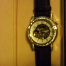 Ladies Akribos24 Skeletal Watch in Perfect Condition Photo