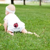 Ladybug Personalized Birthday Bloomers Diaper Cover Photo