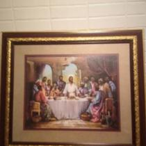Last Supper Framed Picture Photo