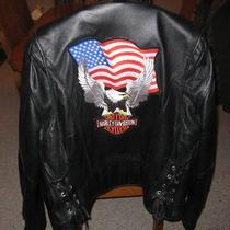 Leather Jacket Harley Davidson Photo