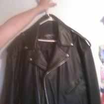 Leather Motorcycle Jacket Photo