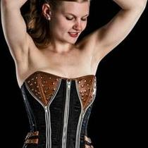 Leather Punk Corsets Best Gift for Her Photo