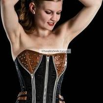 Leather Punk Corsets by Organic Corset Co. Usa Photo