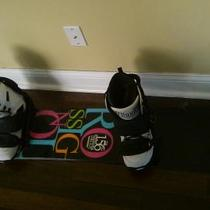 Like New Rossignol Snowboard Package Photo