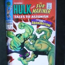 Limited Edition Hulk And SubMariner (Framed) Photo