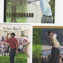 LOT OF 15 TIGER WOODS 2001 UPPER DECK CARDS 3 DIFFERENT Photo