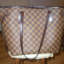 Louis Vuitton Damier Neverfull Mm Photo