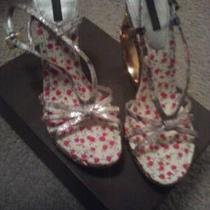 Louis Vuitton Gold/metallic Wedges Size 8.5 Photo