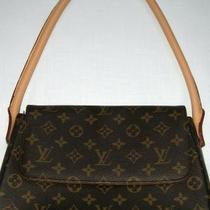 Louis Vuitton Monogram Handbag Purse Clutch Shoulder Hand Bag.. Photo