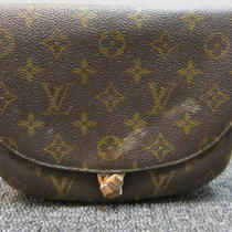 Louis Vuitton Monogram Small Saumur Shoulder Bag 75.00  Photo